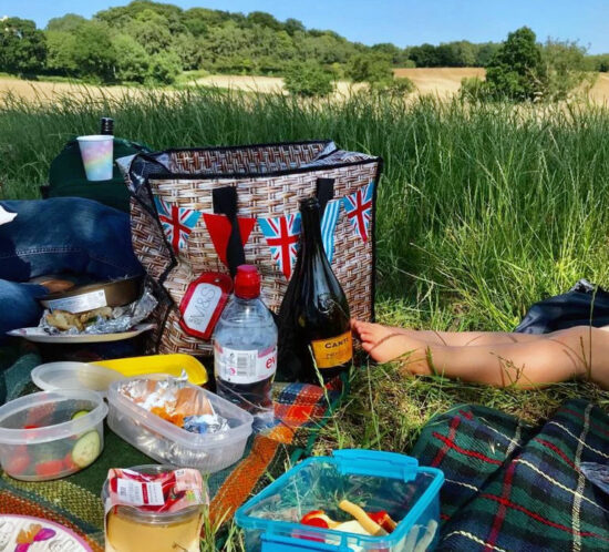 picnic in long grass